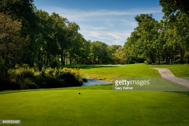 A view from the third hole of Olympia Fields Country Club on August 23 2016 in Olympia Fields Illinois