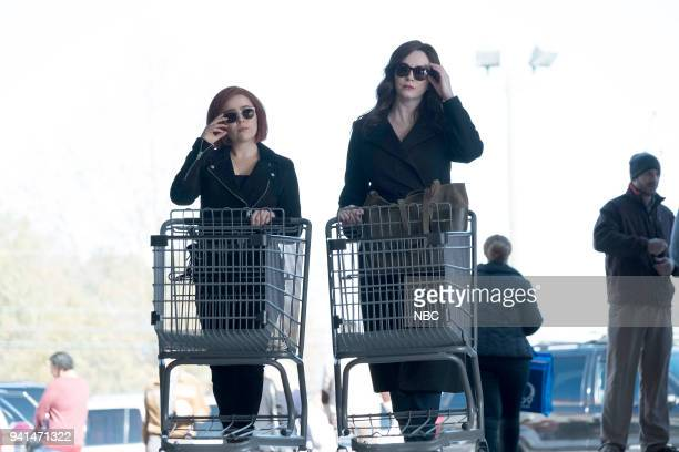 GIRLS 'A View From The Top' Episode 106 Pictured Mae Whitman as Annie Marks Christina Hendricks as Beth Boland
