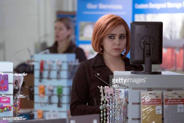 GIRLS 'A View From The Top' Episode 106 Pictured Mae Whitman as Annie Marks