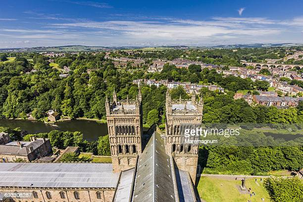 View from the top of the Durham Cathedral
