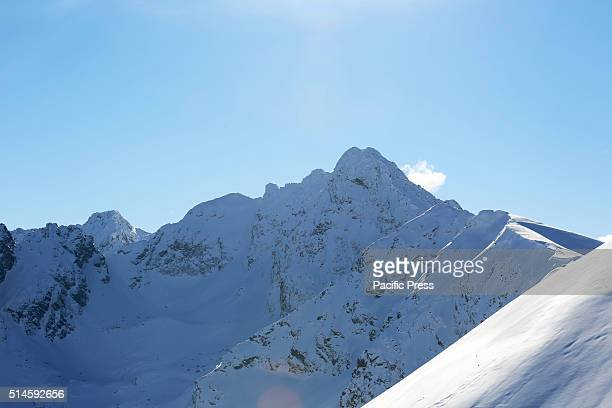 A view from the top of the Kasprowy Wierch It is a mountain in the Western Tatras in Poland The mountain is also renowned as one of the most popular...
