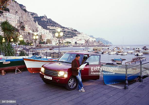 View from the Tourist Port in Amalfi