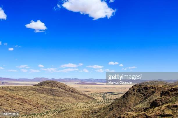 View from the van Zyls Pass towards Marienfluss, Kunene region, Namibia