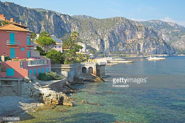View from the Villa Kerylos, located on Pointe des Fourmis, in Beaulieu-Sur-Mer