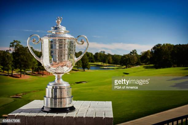 A view from the Wanamaker Trophy at Quail Hollow Club on September 30 2016 in Charlotte North Carolina