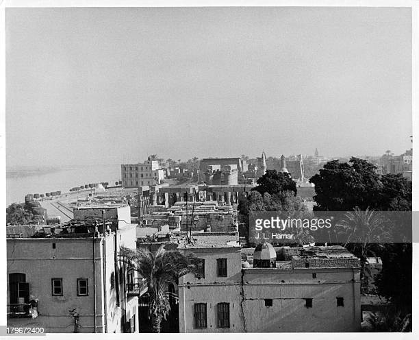 A view from the Winter Palace Hotel in Luxor Egypt
