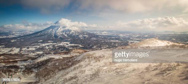 View from top of Hirafu Resort - Hokkaido Japan