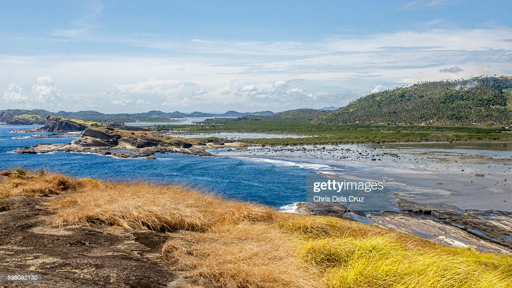View from top of Macadlaw rock formation : Stock Photo