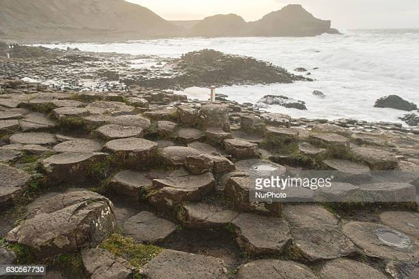 A view Giant's Causeway site On Monday 26 December 2016 in Bushmills County Antrim Northern Ireland United Kingdom