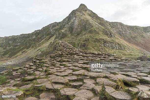 View Giant's Causeway site. On Monday, 26 December 2016, in Bushmills, County Antrim, Northern Ireland, United Kingdom.