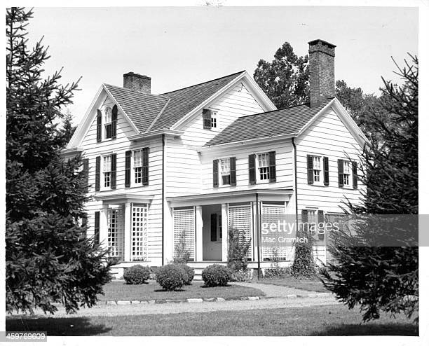 A view Grover Cleveland's birthplace in Caldwell New Jersey Circa 1950