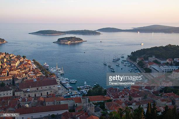 View Hvar Town and the Pakleni Islands