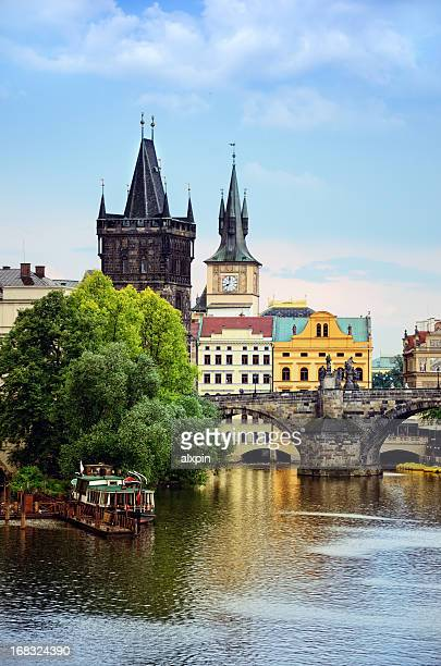 View if Charles Bridge in Prague