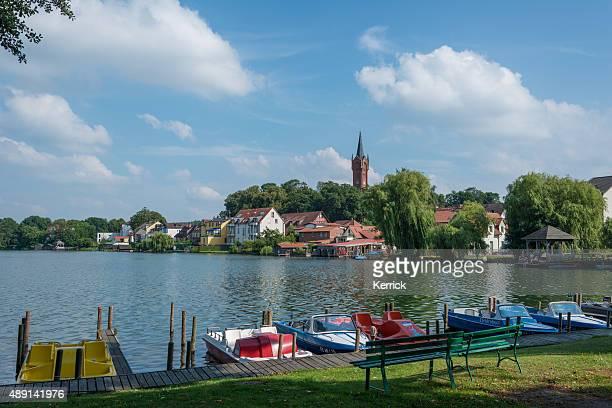 view in Feldberg Seenlandschaft - Mecklenburg, Germany