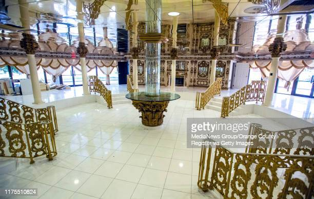 View in the first floor of the rotunda in the former Trinity Broadcasting Network building located on Bear Street and the 405 freeway in Costa Mesa,...