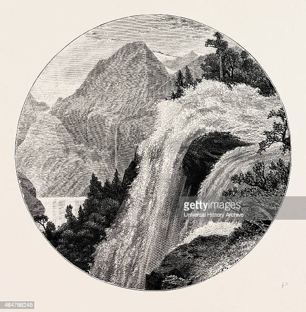 A View In The Geiranger Geiranger Is A Small Tourist Village In Sunnmore In The Municipality Of Stranda In More Og Romsdal County In The Western Part...