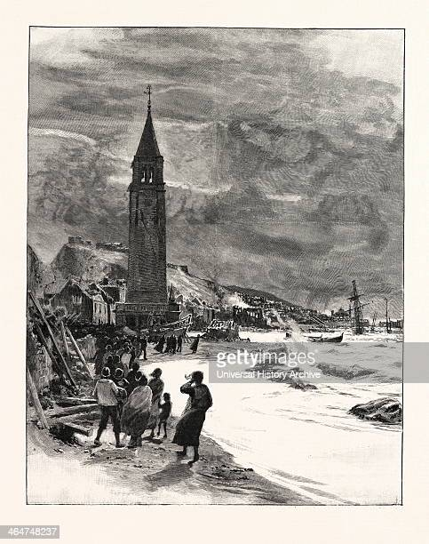 View In Zante After The Earthquake Zante Is A Greek Island In The Ionian Sea Greece 1893 Engraving