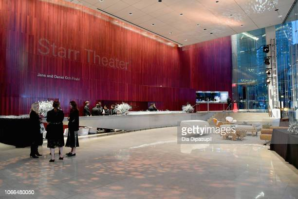 A view inside before the Lincoln Center Fashion Gala An Evening Honoring Coach at Lincoln Center Theater on November 29 2018 in New York City