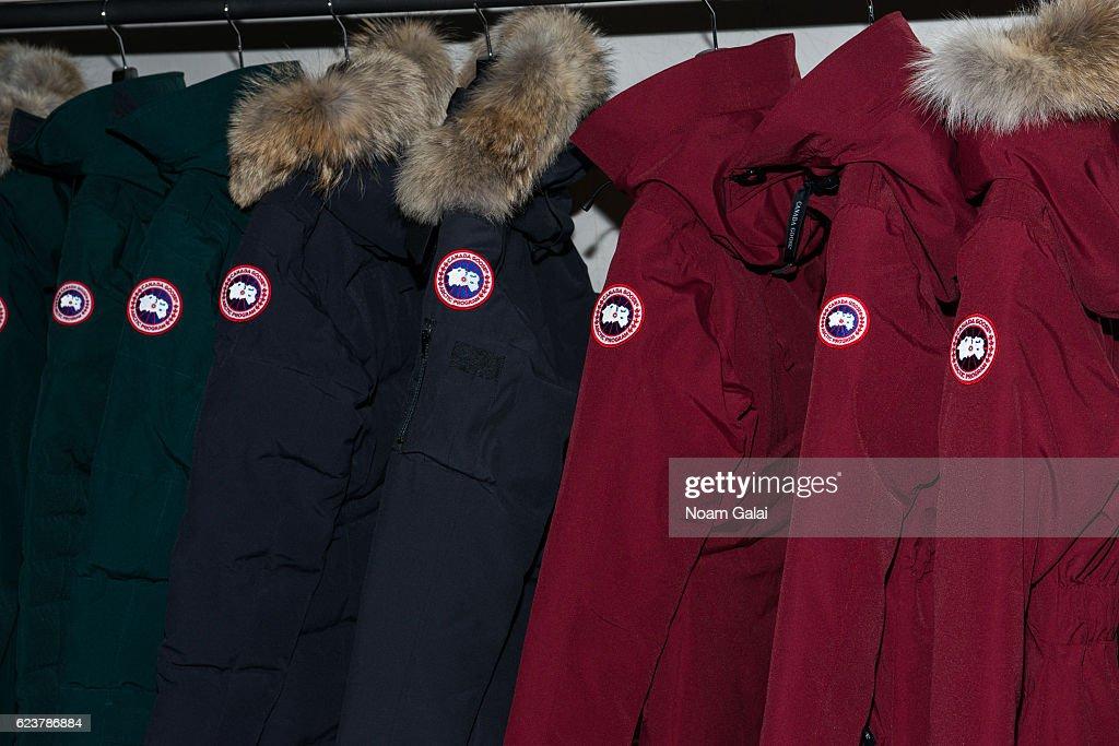 Canada Goose U.S. Flagship Grand Opening : News Photo