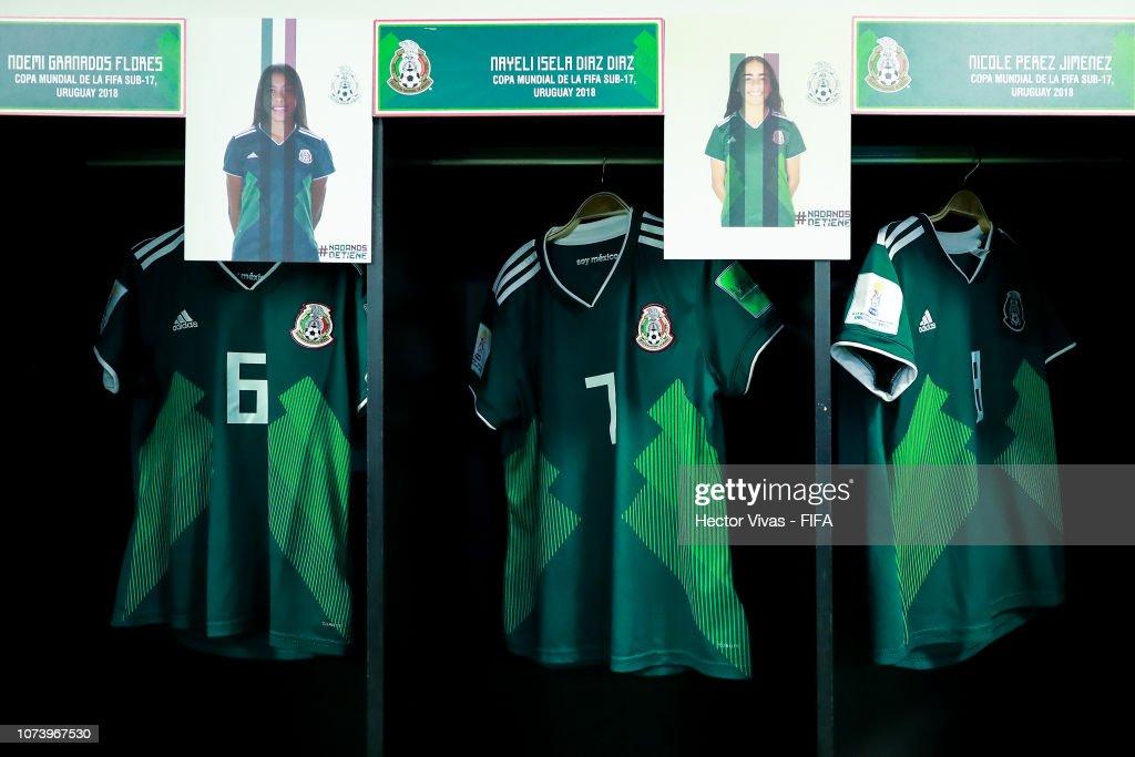URY: Mexico v Canada - FIFA U-17 Women's World Cup Uruguay 2018 Semi Final