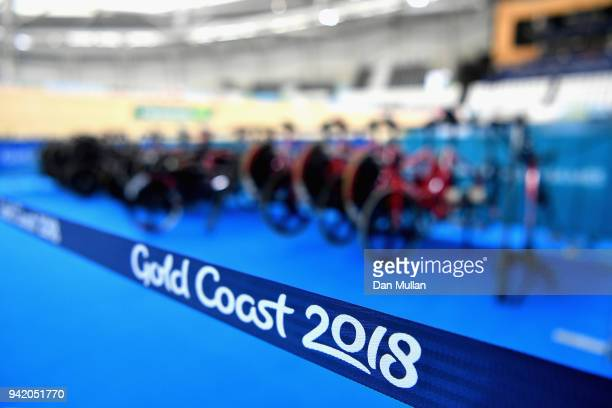 A view inside the arena during the Cycling on day one of the Gold Coast 2018 Commonwealth Games at Anna Meares Velodrome on April 5 2018 in Brisbane...