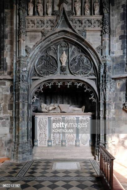 PIEMONTE SALUZZO CUNEO ITALY A view inside the church of San Giovanni in Saluzzo in the province of Cuneo the church is an example of Gothic...