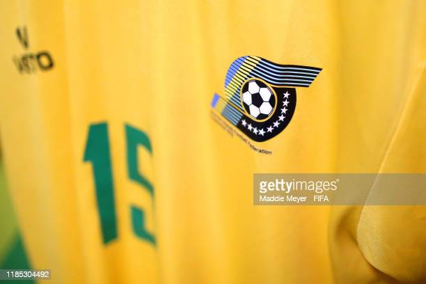 View inside the dressing room of Solomon Islands before the FIFA U-17 World Cup Brazil 2019 Group F match between Mexico and Solomon Islands at...