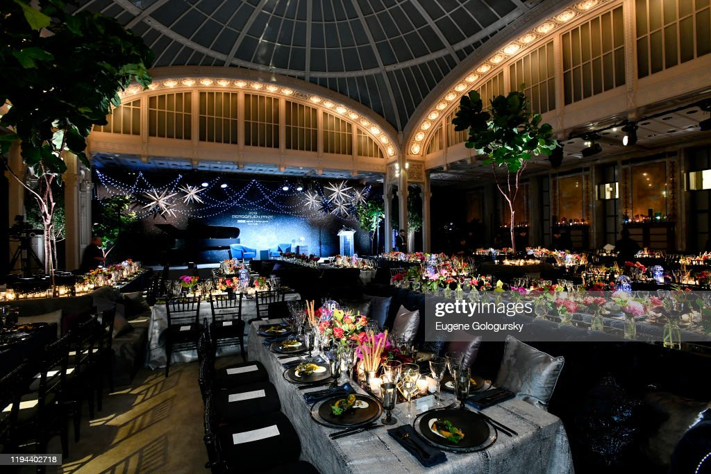Fourth Annual Berggruen Prize Gala Celebrates 2019 Laureate Supreme Court Justice Ruth Bader Ginsburg In New York City - Inside : News Photo
