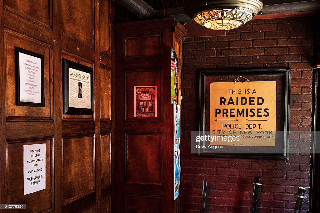 Stonewall Inn Designated By President Obama As National Monument : News Photo