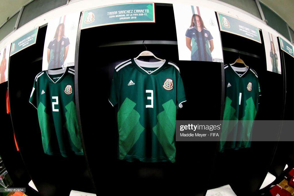 URY: Ghana v Mexico - FIFA U-17 Women's World Cup Uruguay 2018 Quarter Final
