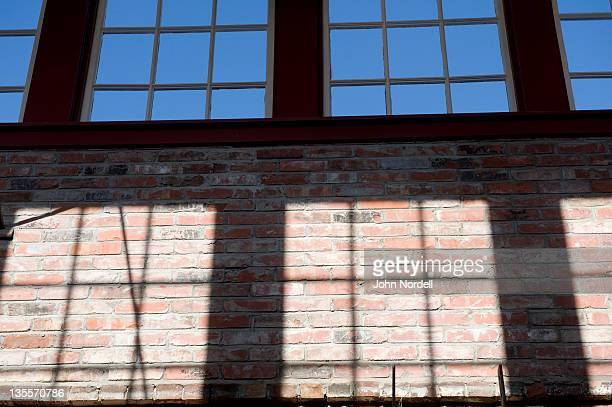 View inside the Massachusetts Museum of Contemporary Art in North Adams, Massachusetts