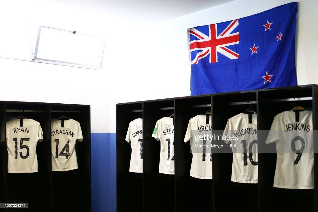 URY: New Zealand v Canada - FIFA U-17 Women's World Cup Uruguay 2018 3rd Place