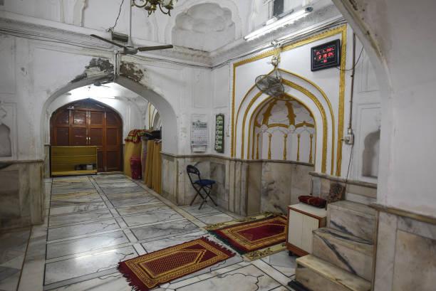 IND: Sunehri Masjid At Chandni Chowk In Delhi