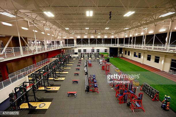 A view inside the Ted Stevens Sports Services Center at the United States Olympic Training Center on May 14 2015 in Colorado Springs Colorado