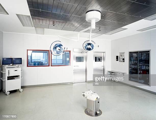 Blick auf ein leeren hospital Operationssaal