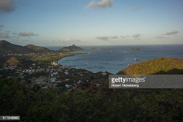 A view looking southwestward towards Hillsborough Bay Hillsborough Carriacou island Grenada February 27 2016