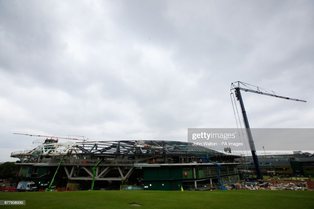 Wimbledon Spring Press Conference - All England Lawn Tennis and Croquet Club : News Photo