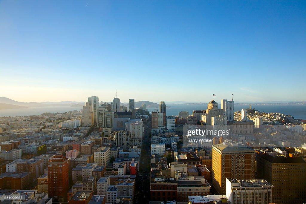 View north from Tenderloin, San Francisco : Stock Photo