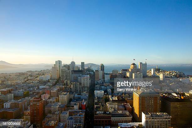 View north from Tenderloin, San Francisco