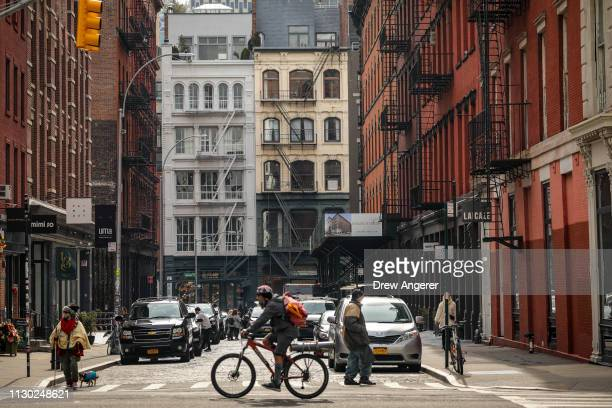 A view of 29 Howard Street where Paul Manafort reportedly purchased a condo unit in 2012 in the SoHo neighborhood of Manhattan March 13 2019 in New...