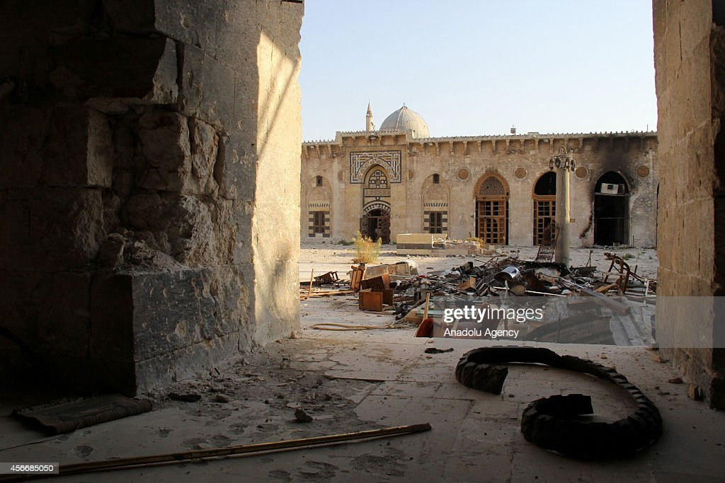 Many historical places destroyed during Syrian civil war : Nieuwsfoto's
