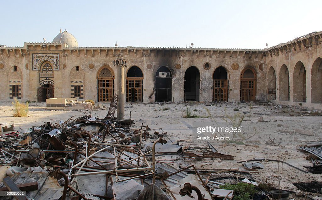 Many historical places destroyed during Syrian civil war : News Photo