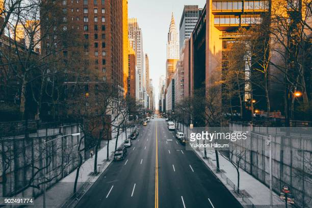 View of 42nd street, New York