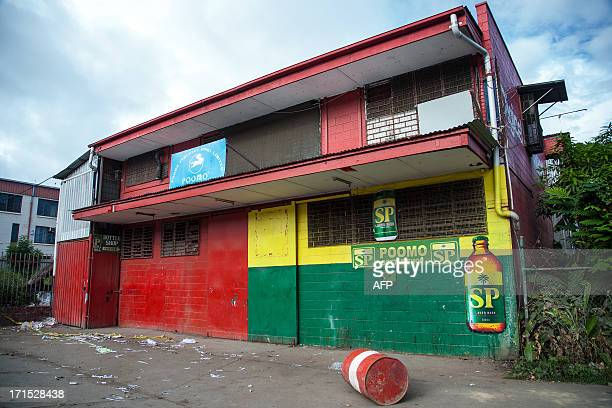 A view of a bakery where four Asian expatriates were murdered in Port Moresby on June 26 2013 Four Chinese nationals have been hacked to death in...