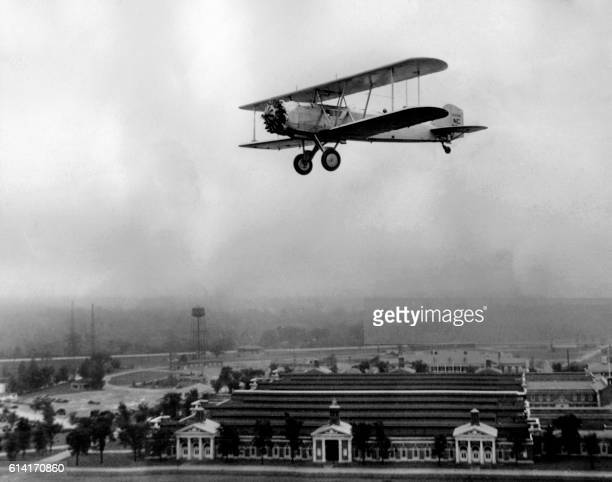 View of a Boeing 40 in flight in May 1938 The Boeing Model 40 was a United States singleengined mail biplane that was widely used for airmail...