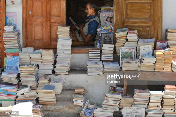 A view of a book shop seen in Rabat's medina On Friday June 30 in Rabat Morocco
