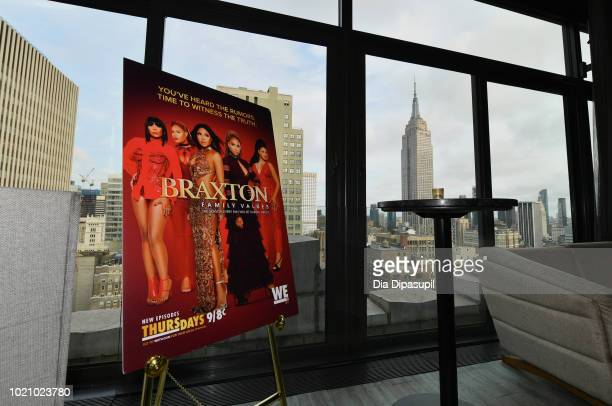 60 Top Tv And Traci Braxton Celebrate The New Season Of