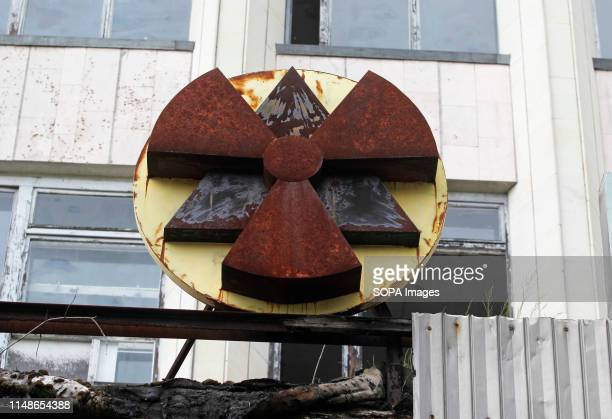 A view of a building at the Chernobyl exclusion zone in the abandoned city of Pripyat The HBO television miniseries Chernobyl premiered in US and...