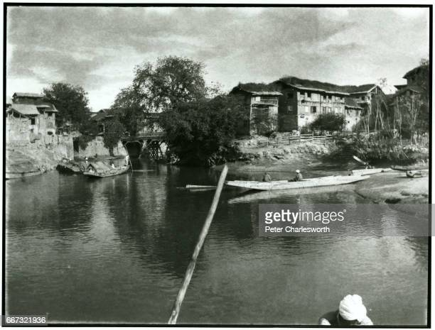 A view of a canal near Srinagar Background to this image With the threat of War looming in Europe Edward Fitzgerald Charlesworth volunteered to join...