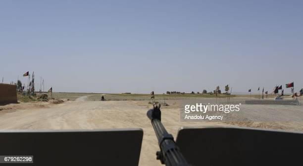 A view of a Chaman crossing point after closing following the clashes at Pakistan and Afghanistan border in Kandahar Afghanistan on May 05 2017 It is...